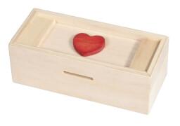 fridolin - Trick Box for Money - Herz, natur