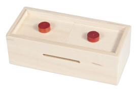 fridolin - Trick Box for Money - Knöpfe, natur
