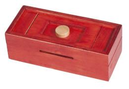 fridolin - Trick Box for Money - Knopf, rot