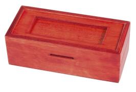 fridolin - Trick Box for Money - Rechteck, rot