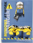 Minions Collegeblock A4 80 Blatt