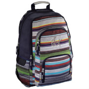 All out Schulrucksack Louth Waterfall Stripes