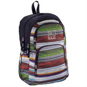 All out Schulrucksack KilKenny Waterfall Stripes