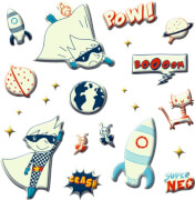 Leuchtsticker Super Neo