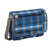 Coocazoo Schultertasche HangDang, Hip To Be Square Blue