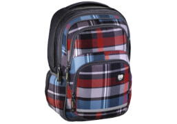 All out Schulrucksack Blaby Woody Grey