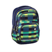 All out Schulrucksack Blaby Summer Check Green