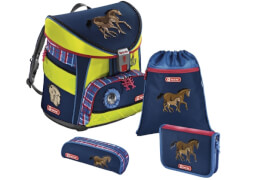 Step by Step Schulranzen-Set Light DIN Horse Family, 4-teilig