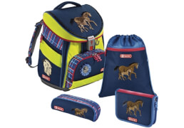 Step by Step Schulranzen-Set Comfort Horse Family, 4-teilig