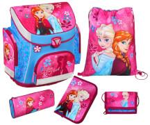 Disney Frozen - Die Eiskönigin Campus Plus Schulranzen-Set, 5-teilig
