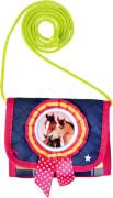 Die Spiegelburg - Brustbeutel Blue Edition Pferdefreunde, Kinder Geldbeutel