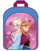 Disney Frozen - Die Eiskönigin Rucksack mit Vortasche aus Polyester
