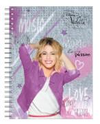 Disney Violetta Collegeblock A4 80 Blatt