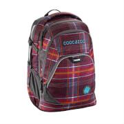 Coocazoo Schulrucksack EvverClevver 2, Walk the Line Purple