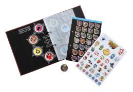 Hasbro B5945EQ0 Yo-Kai Watch Sammelbuch incl. 1 Medaille