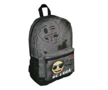 emoji® Daypack Rucksack mit Vortasche aus Polyester