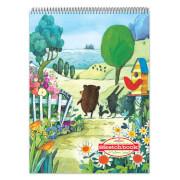 Eeboo - Sketchbook Spazieren am See