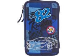 Depesche 6521 Monster Cars 3-fach Federtasche Karo