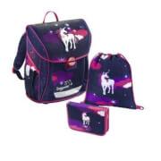 Baggymax Schultaschen-Set Fabby Unicorn, 3-teilig