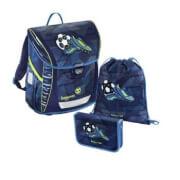 Baggymax Schultaschen-Set Fabby Soccer Goal, 3-teilig