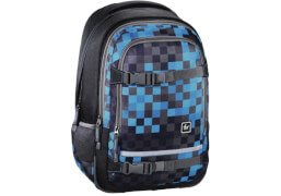 All out Schulrucksack Selby Blue Pixel
