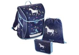 Baggymax Schultaschen-Set Fabby Modern Horse, 3-teilig