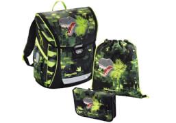 Baggymax Schultaschen-Set Fabby Dino, 3-teilig