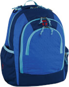 TAKE IT EASY Schulrucksack BERLIN vielseitig ZOOM BLUE royalblau