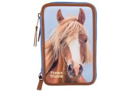 Depesche 6386 Horses Dreams 3-fach Federtasche