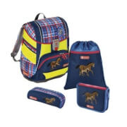Step by Step Schulranzen-Set 2in1 Horse Family, 4-teilig