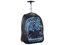 Baggymax Rucksack Trolley Bolton Blue Pixel