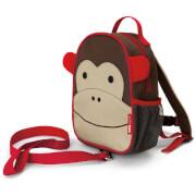 Skip Hop Zoo Let Monkey - Kinderrucksack mit Leine, Affe