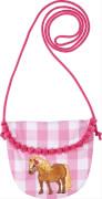 Die Spiegelburg - Brustbeutel aus Baumwolle, Mein kleiner Ponyhof, rosa