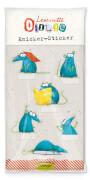 Leseratte Knicker-Sticker