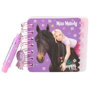 Depesche 8514 Miss Melody Mini Notizbuch Set  mit Kugelschreiber