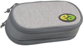 Etui Box YZEA BOX mit Zirkelfach WALL hellgrau