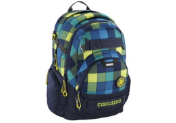 Coocazoo Schulrucksack CarryLarry 2, Lime District