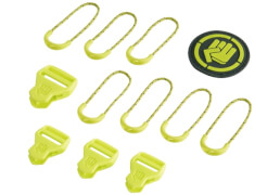 Coocazoo MatchPatch Classic, Limepunch, 12-teilig