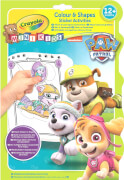 AMIGO 13732 Crayola Paw Patrol Color & Stickerbook
