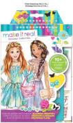 Make_It_Real - Mode Skizzenbuch Blühende Kreativität