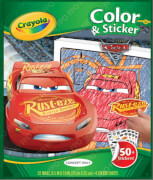 AMIGO 20128 Crayola Cars 3 Color & Sticke