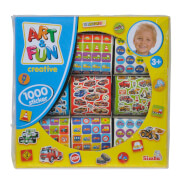 Simba Art & Fun 1.000 Jungen Sticker