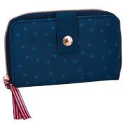 Depesche 6045 Miss Melody Portemonnaie Streichpailletten blau