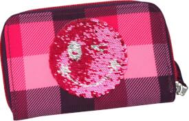 Depesche 8823 TOPModel Portemonnaie, Pailletten Smiley lila