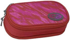 Etui Box YZEA BOX mit Zirkelfach SPICY rot/pink