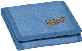 Geldbörse YZEA WALLET SURF hellblau/cognac