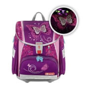 Step by Step TOUCH 2 FLASH Schulranzen-Set Shiny Butterfly, 4-teilig