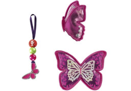 Step by Step Magic Mags Shiny Butterfly, 3-teilig