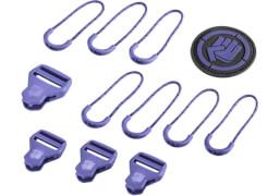 Coocazoo Schulrucksack Zubehör Dahlia Purple MatchPatch
