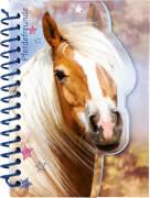 Die Spiegelburg 14573 Pferdefreunde - Notizbuch mit Stickerbogen
